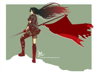 Blood Flag by ShiroiNeko-sama