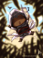 AC: Jumping Into A Hay Stack by ShiroiNeko-sama