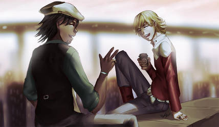 TnB: My Funny Friend And Me by ShiroiNeko-sama
