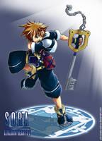 KH2:Sora by ShiroiNeko-sama
