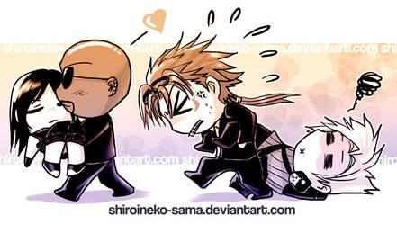 FF7AC: He's so heavy, Yo by ShiroiNeko-sama