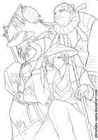 Original: Soul Takers lineart by ShiroiNeko-sama