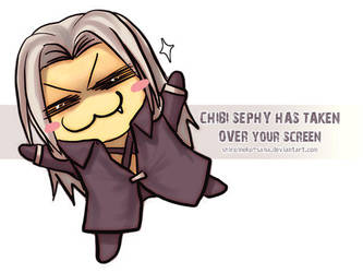FF7:Taking Over Your Screen by ShiroiNeko-sama