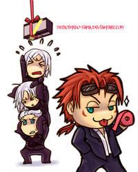 FF7AC: Keeping Them Busy by ShiroiNeko-sama