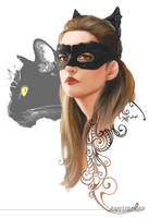 Anne Hathaway Catwoman by Ultrajack