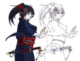 Commission: Kuni Oharu by Shiyu-Kang