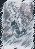 Moto girl by Glaubart
