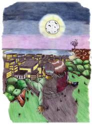 Yusuke and Keiko by Glaubart