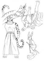 Beast Characters by Glaubart