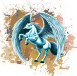 Pegasus Tattoo by Glaubart