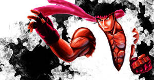 Ryu - Street Fighter 4 by Glaubart