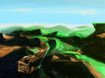 Sketch paisagem 2 by Glaubart