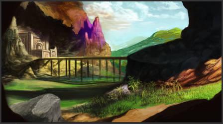 Landscape creation by Glaubart