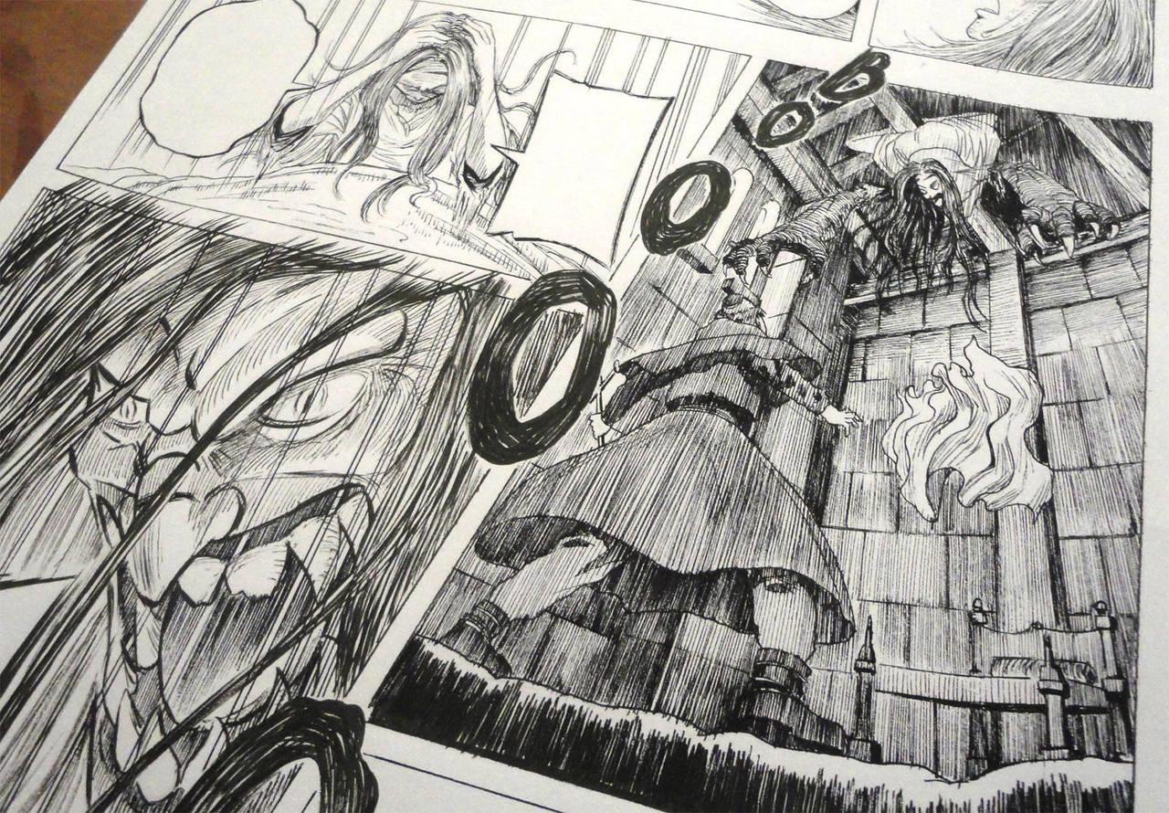 Louis De Dampierre Manga4 by Glaubart