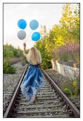 Blue is just a New Beginning 0104 by SchwarzWieEbenholZ