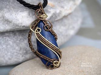 Lapis Lazuli pendant by IanirasArtifacts