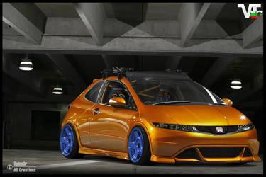 Honda Civic by Spinn3r ~ by SpinnerBG