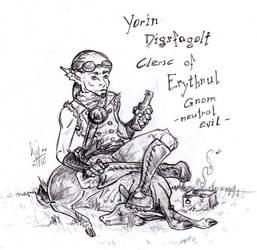 Yorin DnD Comission by balorkin