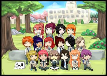 Kodaiki 3-A class !! by Harukishi
