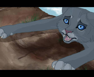 It's all over - Bluestar's death by Poison-Storm
