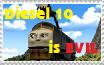 Diesel 10 is Evil Stamp by RailfanBronyMedia