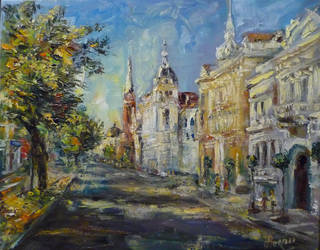 In the center of Arad by cat-alina
