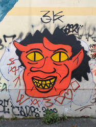 Street art 1 by warlover12