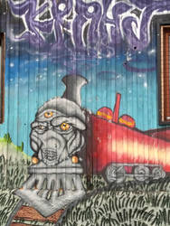 Street art 3 by warlover12