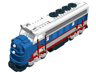Lego Minnesota Zephyr by Mark-Lemaire