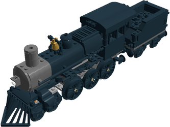 Lego Northern Pacific No. 328 by Mark-Lemaire