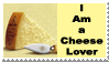 Cheese Lover Stamp by 2753Productions