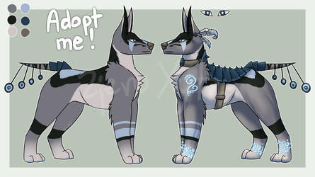 Warrior character for sale - OPEN! by ZjeroXytz