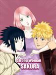 Strong Woman Sakura by mila-shalala