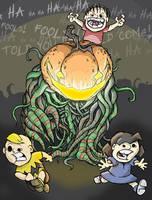 The Great Pumpkin by MurderousAutomaton