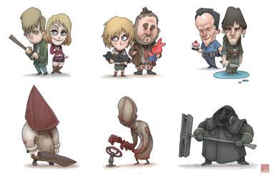 Silent Hill Fun Size by MurderousAutomaton