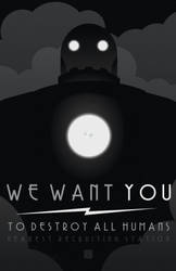 WE WANT YOU by MurderousAutomaton