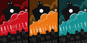 Robot Invasion Posters by MurderousAutomaton