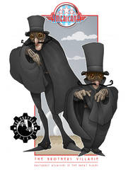 The Brothers Villanie by MurderousAutomaton