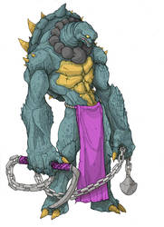Surasshu: The Ronin (Original Toy Colors) by MurderousAutomaton