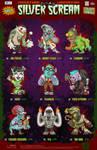 Creepazoids: Silver Scream by MurderousAutomaton