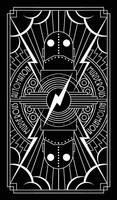 Automaton Playing Card by MurderousAutomaton