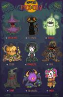 Creepazoids: Trick or Treat by MurderousAutomaton