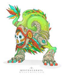 Mythos: Quetzalcoatl by MurderousAutomaton