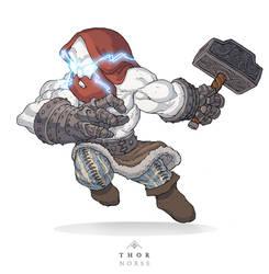 Mythos: Thor by MurderousAutomaton