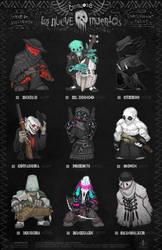 Creepazoids: Los Nueve Muertos by MurderousAutomaton