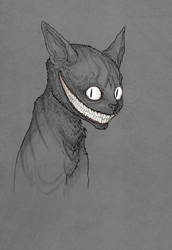 Grinning Like a Cheshire Cat by MurderousAutomaton