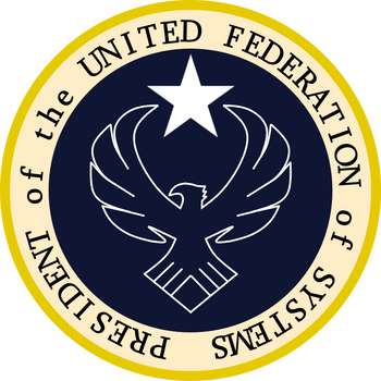 United Federation of System President Seal by drivanmoffitt