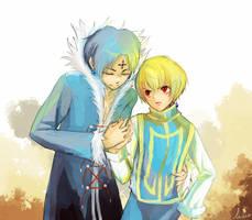 Hunter x Hunter - kurokura by leaf-wolf