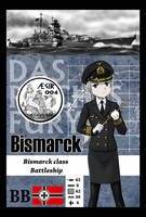 AEGIR 004- Bismarck by wave-lens