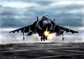 Harrier by wave-lens